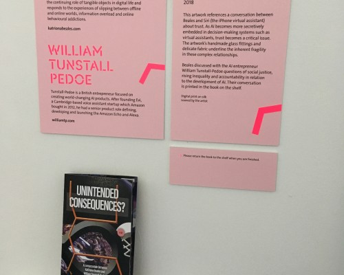 Unintended Consequences (2018) KBeales & WTunstall-Pedoe install