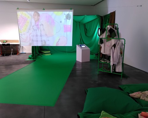 Installation view of 'As We Are But Not As You Know Us' (2020)