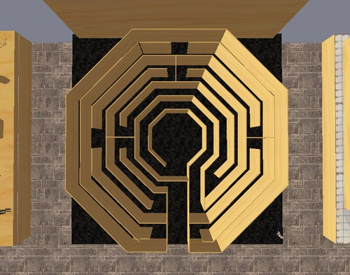 Untitled (Second Life Labyrinth) 2012 KBeales